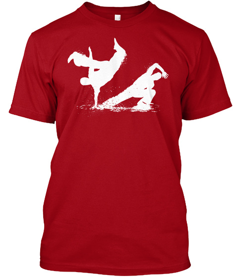 Capoeira Flow (W) Only A Few Days Left!! Deep Red T-Shirt Front