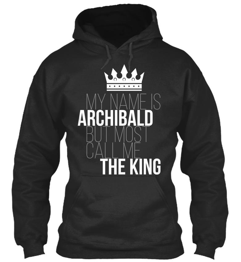 Sweat roi à Capuche mode Confortable la Archibald m'appelle le À vWan7YFqFO