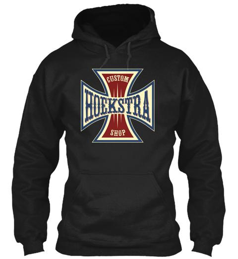 Hoekstra Custom Shop Black T-Shirt Front