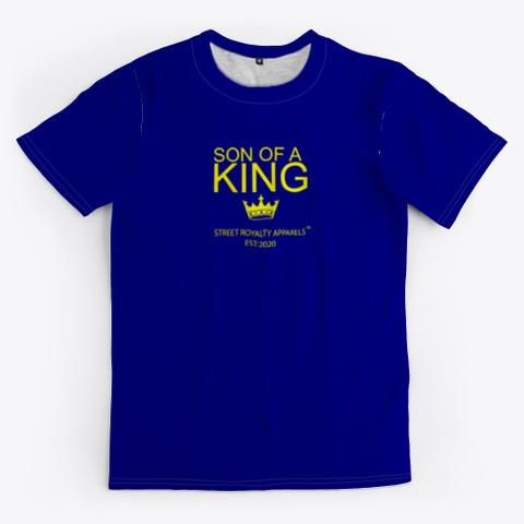 Soakq/Doakq Deep Navy T-Shirt Front