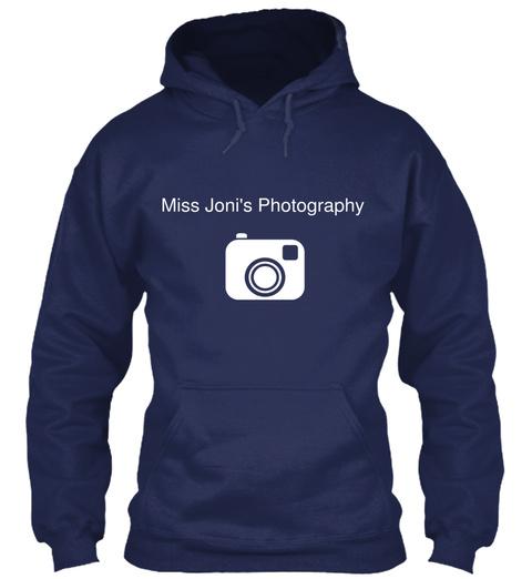 Miss Joni's Photography Navy T-Shirt Front