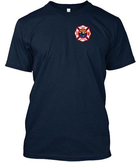 Code 3 Apparel New Navy T-Shirt Front
