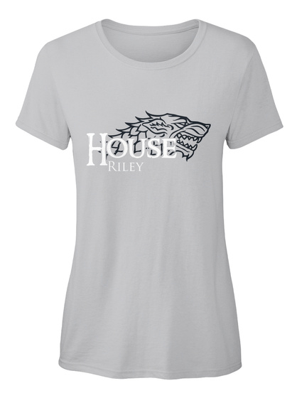 Riley Family House   Wolf Sport Grey T-Shirt Front