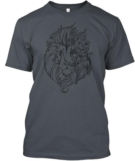 Exclusive Leon   Unique Art  Heavy Metal T-Shirt Front