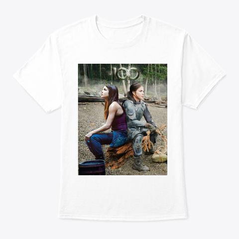 Octavia Blake Metamorphosis Collection White T-Shirt Front