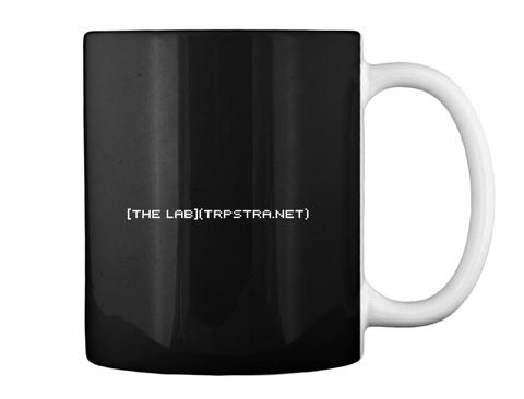 The Lab Trpstra Net Black T-Shirt Back