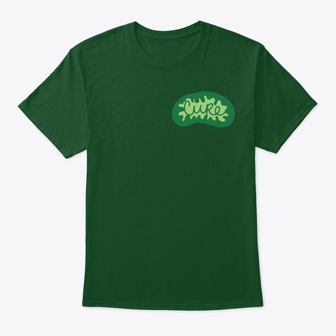 Cure Mito  Deep Forest Camiseta Front