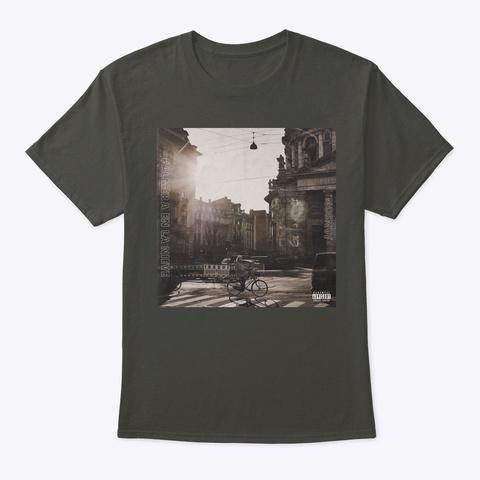 Palmera En La Nieve  Smoke Gray T-Shirt Front