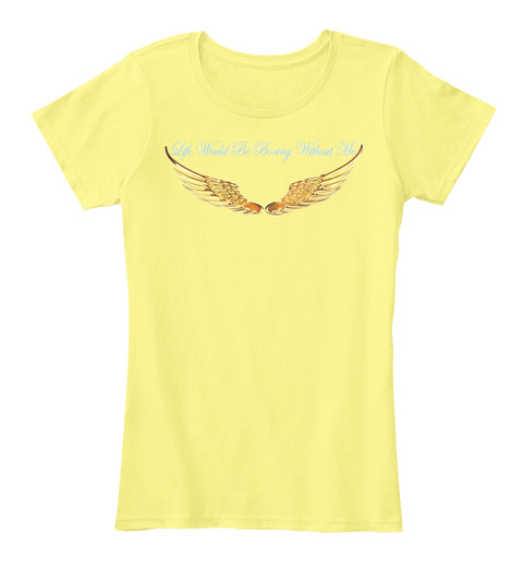Sweetheart Lemon Yellow T-Shirt Front