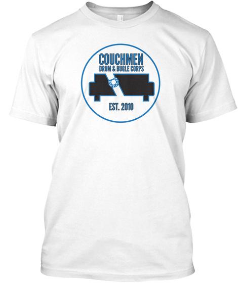 Couchmen Drum & Bogle Corps Est. 2010 White T-Shirt Front
