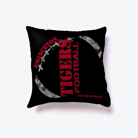 Princeton Tigers Dark Pillow Black T-Shirt Front