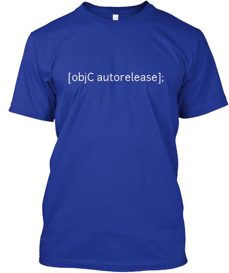 [Obj CAutorelease]; Lapis T-Shirt Front