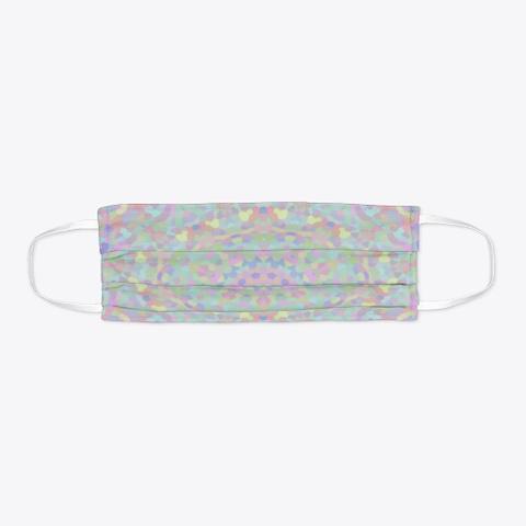 Boho Pastel Mosaic Mandala Standard T-Shirt Flat