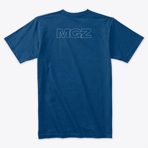 Mgz Merch Cool Blue T-Shirt Back