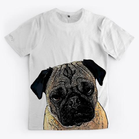 Pug Lover T Shirt Standard T-Shirt Front