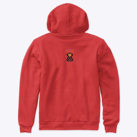 Inktober19   Tiger Red T-Shirt Back