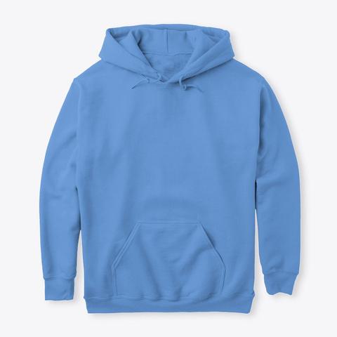 Not Spicy Hoodie  לא חריף כל הצבעים Carolina Blue Camiseta Front