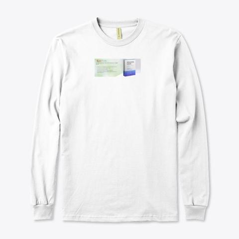 Menomin Forte Cena White T-Shirt Front