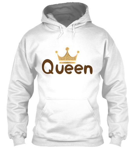 Kind And Queen Couple 9 White T-Shirt Front