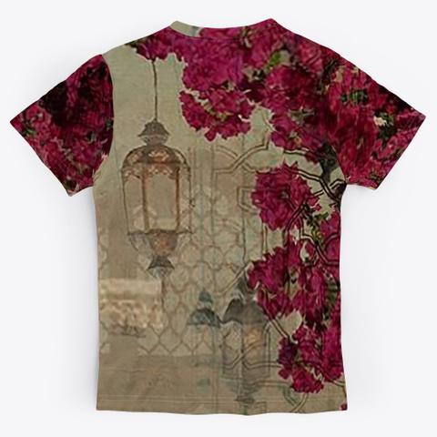 Oriental Art Standard T-Shirt Back