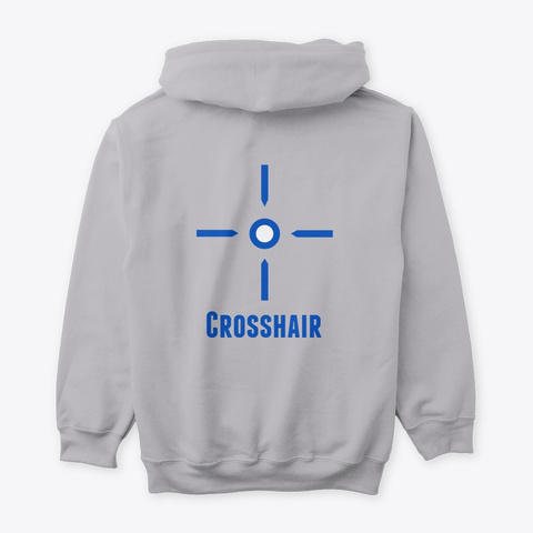 Crosshair Standard Sport Grey T-Shirt Back