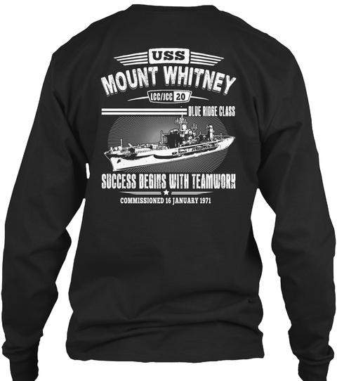 [Ltd. EDITION] USS MOUNT WHITNEY TSHIRT SweatShirt