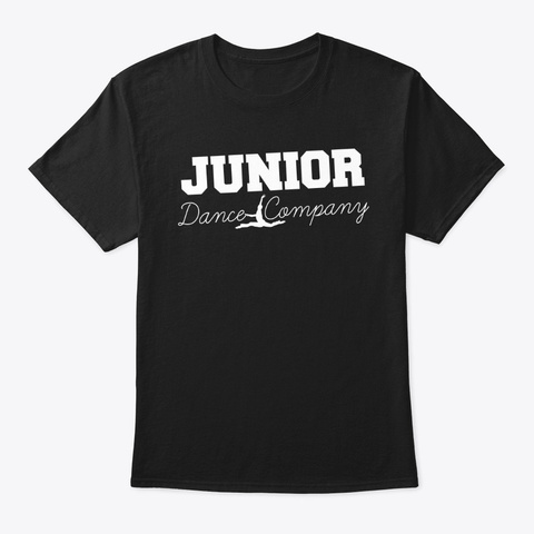Junior Dance Company Black T-Shirt Front
