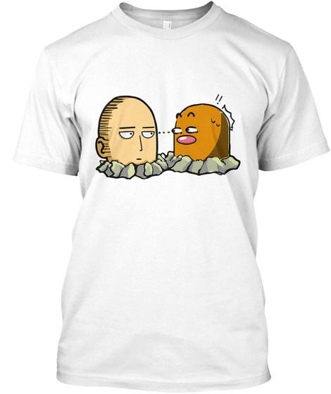 Eye Contact White T-Shirt Front