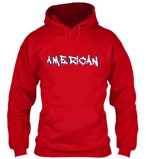 American Red T-Shirt Front