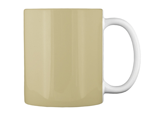 Honoring Wood Carvers Everywhere Tan Mug Back