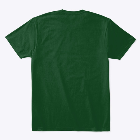 Cp Nation Forest Green  T-Shirt Back