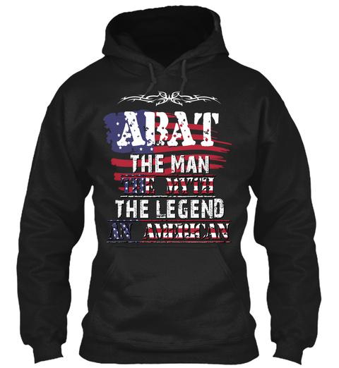 Abat  Black T-Shirt Front