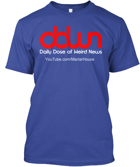 You Tube.Com/Marlar House Deep Royal T-Shirt Front
