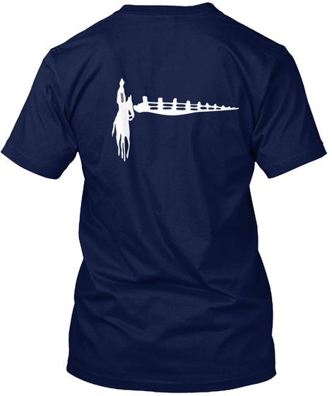 Blues Jammer Gear Navy T-Shirt Back