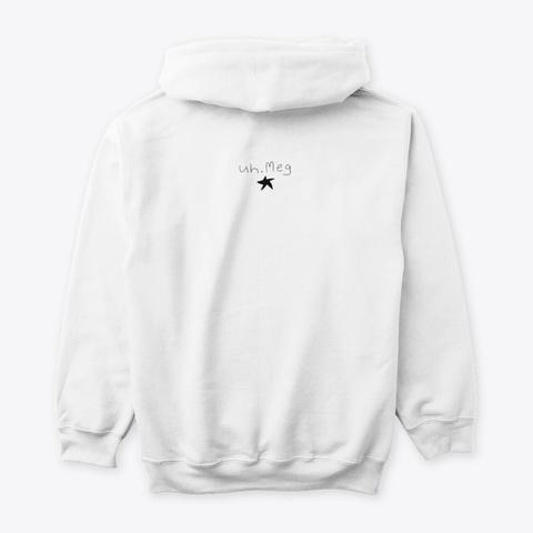 ☆☆☆ White T-Shirt Back
