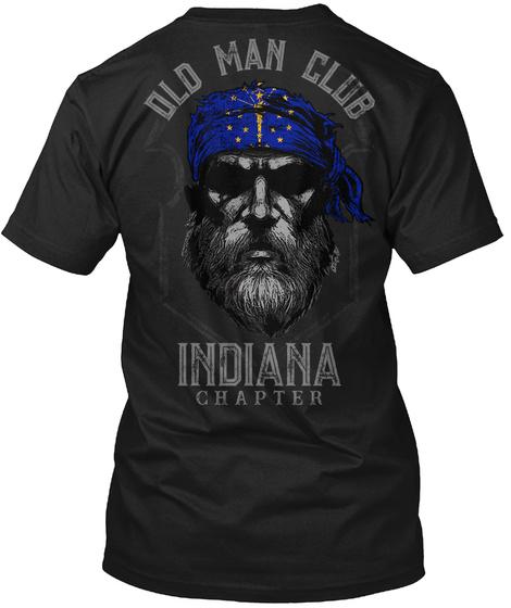Old Man Club Indiana Unisex Tshirt