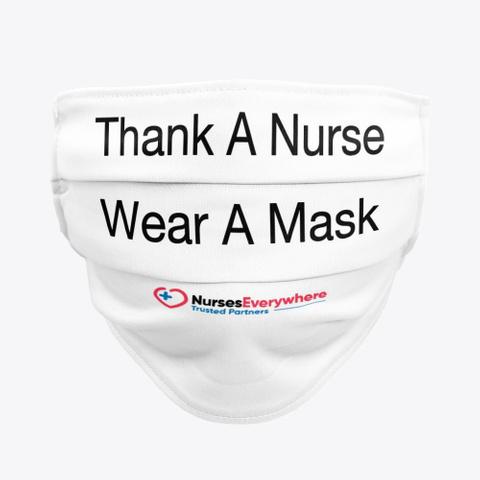 Thank A Nurse Mask Standard T-Shirt Front