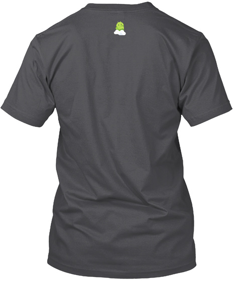 """Android Central """"Pure Android"""" Tees  Charcoal T-Shirt Back"""