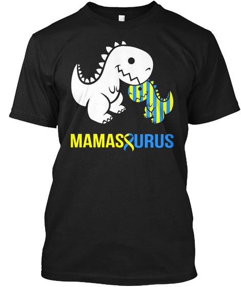 Mamas Eurus Black T-Shirt Front