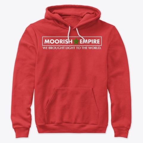 Moorish Empire Red T-Shirt Front