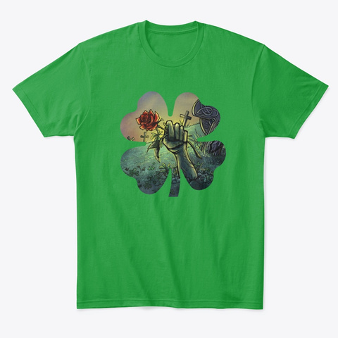 Patty Rose 2020 Collection Kelly Green T-Shirt Front