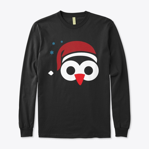 Ugly Christmas Sweatshirt Black T-Shirt Front