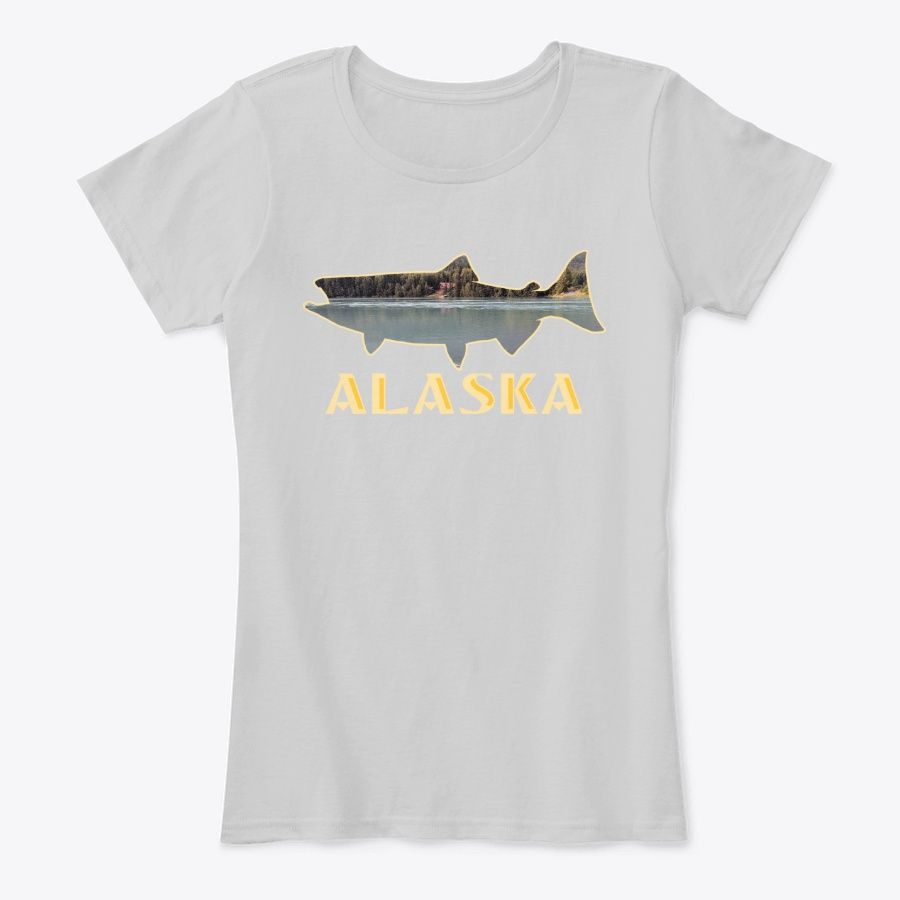 Alaska King Salmon Fishing Vacation SweatShirt