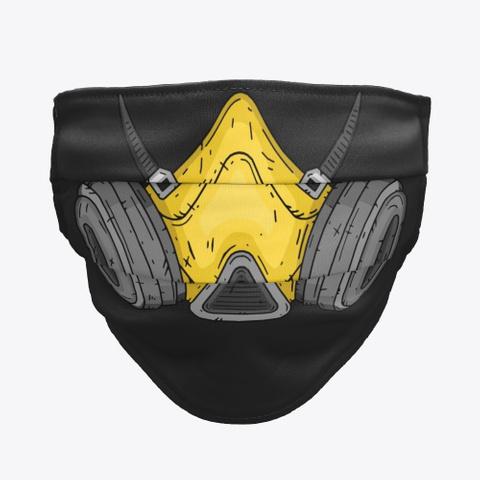 Nak Squad   Gas Mask Black T-Shirt Front