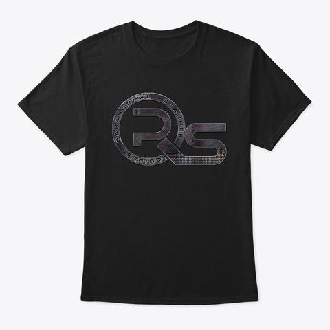 Logo Black T-Shirt Front
