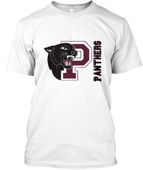 Panthers Panthers White T-Shirt Front