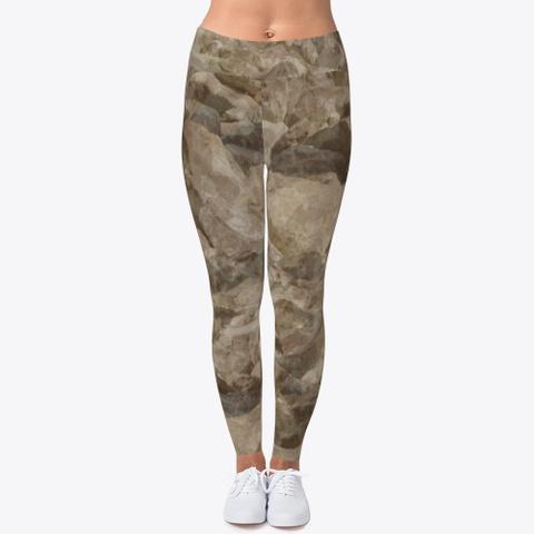 Desert Camo Leggings Standard T-Shirt Front