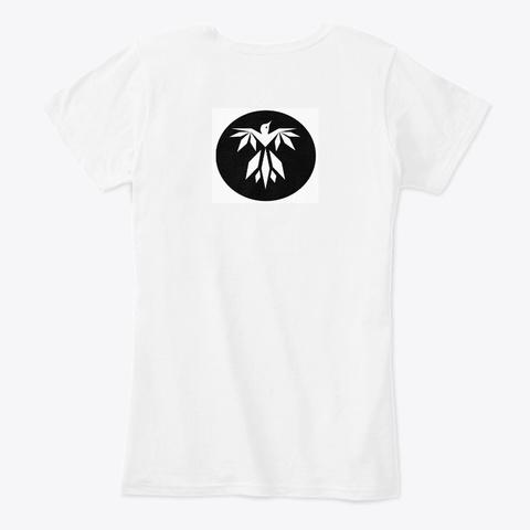 Studio Theme 2   White White T-Shirt Back