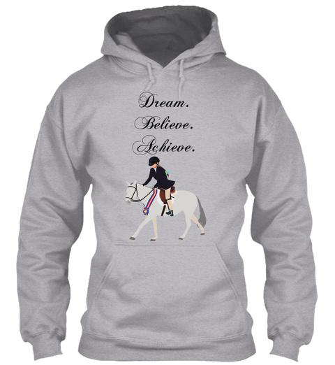 Dream. Believe. Archive. Sport Grey T-Shirt Front