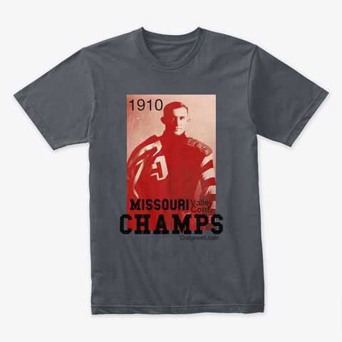 1910 Football Champs Heavy Metal T-Shirt Front